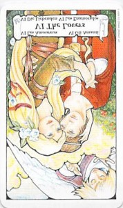 The Lovers reversed -- from Tarot to Go