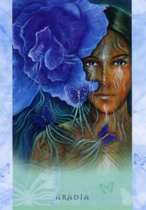 Aradia, from Toni Carmine Salerno's Universal Wisdom deck