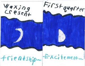 friendship, excitement, moon, Sally