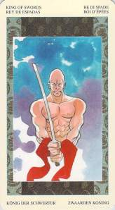 King of Swords, Samurai Tarot