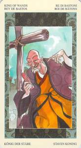 King of Wands, Samurai Tarot