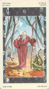 The Fool -- Samurai Tarot