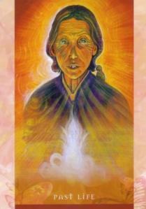 Past Life, Universal Wisdom deck, Toni Carmine Salerno