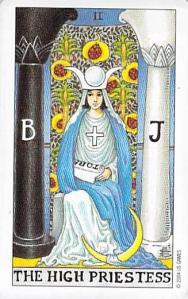 The High Priestess, Universal Waite