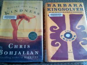 Chris Bohjalian, Before You Know Kindness, Barbara Kingsolver, The Lacuna