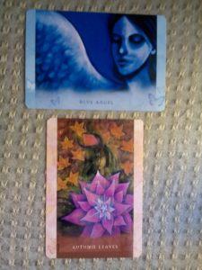 Autumn Leaves, Blue Angel, Toni Carmine Salerno, Universal Wisdom
