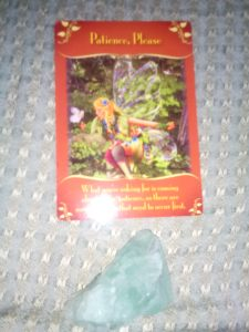 Doreen Virtue, Magical Messages from the Fairies, Patience, Please