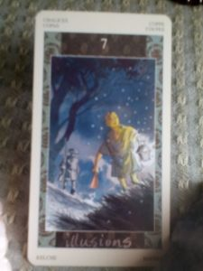 Seven of Cups, Illusions