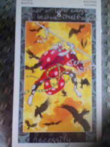 The Eight of Wands: Tengu spirits