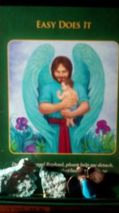 Easy Does It from Doreen Virtue's Archangel Raphael Healing Oracle Cards