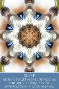 Sleep, from Ashley Snow's Intuitive Mandalas app (an Indie Goes app available on Google Play)