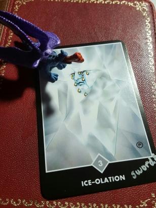 Ice-olation, Osho Zen Tarot, Three of Swords