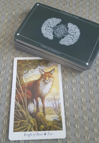 Knight of Bows, Fox, Wildwood Tarot