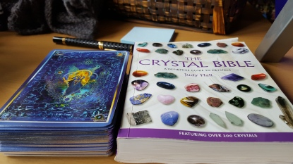 Doreen Virtue, Angel Tarot, The Crystal Bible