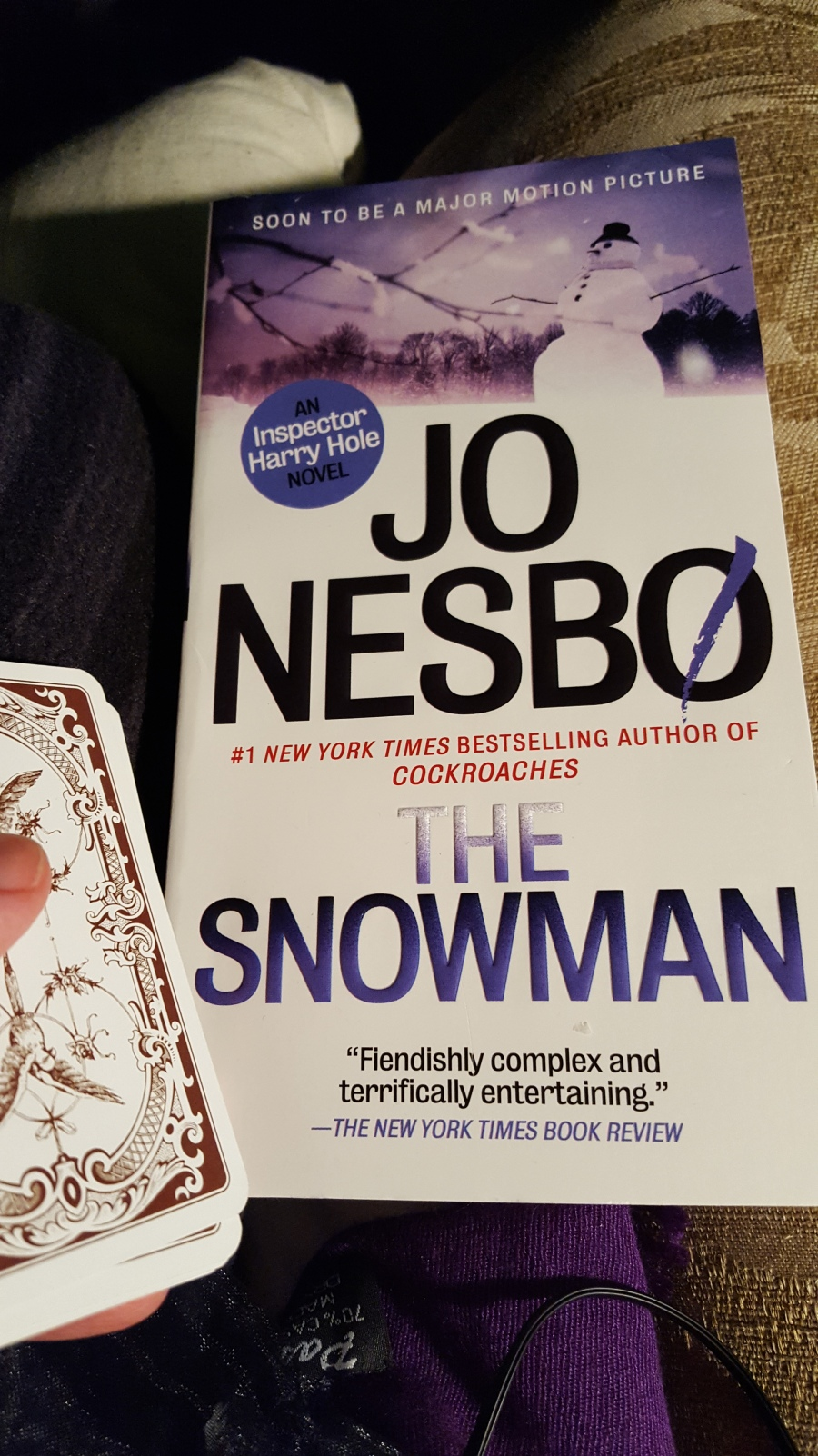 Jo Nesbo, The Snowman