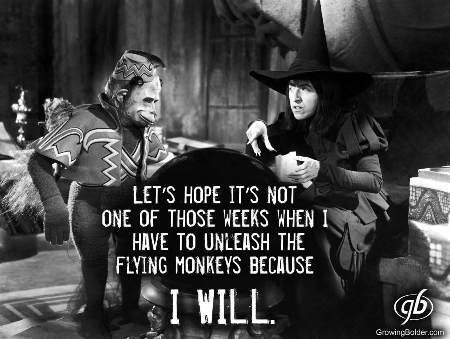 unleashing the monkeys